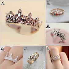 crown rings jewelry images Turn a princess by wearing a crown ring jpg