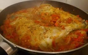 cuisine poulet basquaise recette poulet basquaise pas chère et simple cuisine étudiant