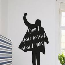 aliexpress com buy don t you forget about me art designed quotes aliexpress com buy don t you forget about me art designed quotes wall decals simple style man silhouette cool wall sticker home rooms decor wm 599 from