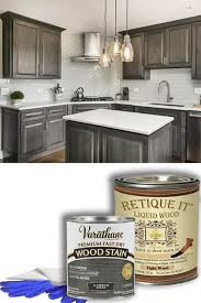 grey stained kitchen cabinets diy retique it liquid wood is a patented revolutionary new