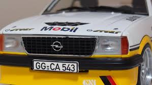 opel ascona sport opel ascona i2000 modified tining 1 18 scale by sunstar u2014 cs