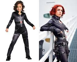 Halloween Costume Black Widow 12 Kiddie Halloween Costumes Wear
