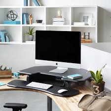 Height Adjustable Corner Desk by The 10 Best Adjustable Standing Desks In 2017