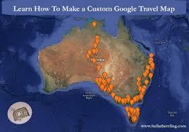 Create Custom Google Map Custom Google Map How To Create A Make Travel World Maps