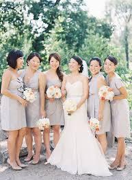 light gray bridesmaid dresses knee length light gray bridesmaids dresses elizabeth anne designs