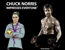 Not Impressed Meme - chuck norris impresses everyone except mckayla mckayla is not