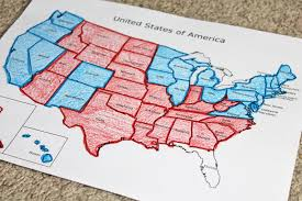Kids Map Of The United States by Election Day Activities For Children Who Arted
