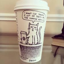 coffee cup cartoons by josh hara