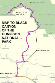 Colorado National Parks Map by Roadrunner U0027s Bucket Roads Black Canyon Of The Gunnison Roundtrip
