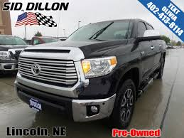 2016 toyota tundras pre owned 2016 toyota tundra ltd crew cab in lincoln 4n17827a
