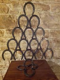 horseshoe christmas tree best 25 horseshoe christmas tree ideas on horseshoe