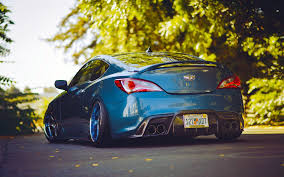 slammed cars cars tuning hyundai genesis coupe stance slammed camber wallpaper