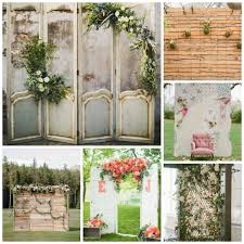wedding backdrop rustic wedding backdrops details