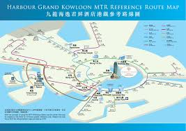 Shenzhen Metro Map In English by Location Harbour Grand Kowloon