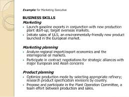 marketing skills resume e study guide for contemporary business report writing by shirley