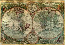 Decorative World Map Decorative World Map Printandportrait