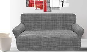 housse extensible pour fauteuil et canapé housse fauteuil canapé extensible groupon shopping