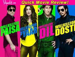 kill dil quick movie review ranveer singh govinda and ali zafar