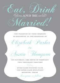 eat drink and be married invitations wedding invitations eat drink and be married at minted