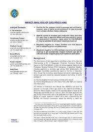 Average Gas Price by Gas Price Hike Impact Analysis Final