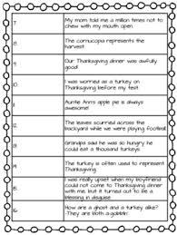 figurative language worksheet november middle school