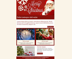Sample Email Blast Template by Get Email Greeting Christmas Cards And Holiday Email Templates For