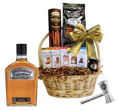 Gentleman Jack Gift Set Gift Baskets Wine Globe