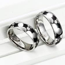 Batman Wedding Rings by Bat Man Wedding Band Couple Rings His And Hers Rings