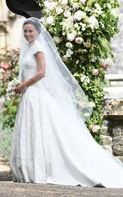 www wedding classically beautiful pippa middleton wears a lace dress by giles