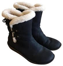 s ugg australia black boots ugg australia black s acadia boots booties size us 9 regular