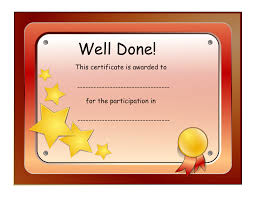 certificate of participation printable free landlord eviction