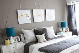 bedroom wall decorating ideas bedroom interesting image of modern grey bedroom