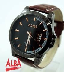 Jam Tangan Alba Pria alba 5102g black brown kucikuci shop jam tangan murah