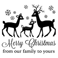 papiria gourmet cling st merry from our family to yours