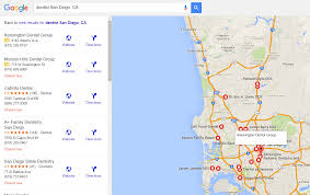 Google Maps San Diego by Ads In Google Maps And The Local Finder Searchenginenews Com