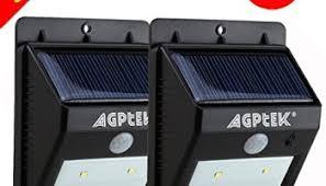 Dusk To Dawn Motion Sensor Outdoor Lighting Volador Outdoor Hanging Solar Lights 4 Pack 20 Leds Motion Sensor