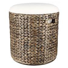chocolate storage ottoman living space zara storage ottoman