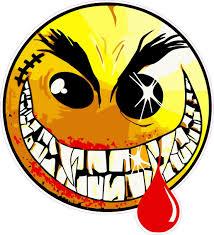 Evil Face Meme - evil smiley face decal nostalgia decals
