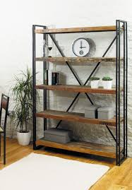 Industrial Metal Bookshelf 16 Industrial Furniture Pieces To Purchase And Use Keribrownhomes