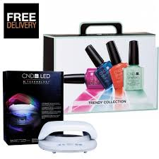 cnd 3c led l cnd shellac trendy collection starter pack cnd led l looking
