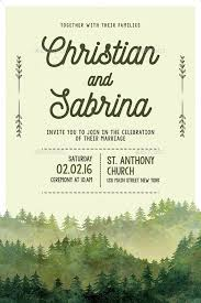 marriage invitation greenery and floral wedding invitation trends for 2017 envato