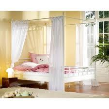 letto baldacchino letto a baldacchino 皓mathilda盪 160 x 190 cm bianco jysk