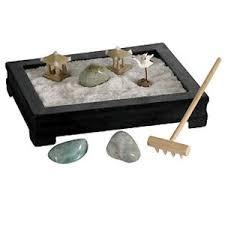 mini zen garden relaxing meditation desk table top new gift feng
