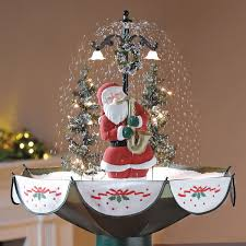 tabletop snowing christmas tree snowing christmas tree