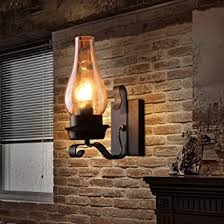 Vintage Industrial Wall Sconce Lightinthebox Retro Rustic Nordic Glass Wall L Bedroom Bedside