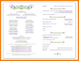 Example Of Wedding Program 100 Wedding Programs Industrial Chic Wedding Programs