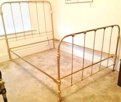 king size wrought iron bed frame beautiful classic throughout cast