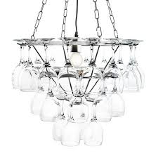 Metal Chandelier Frame Lighting U0026 Lamp Simple Beautiful Wine Glasses Chandelier Frame
