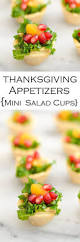 thanksgiving cups mini poppy seed pomegranate kale salad appetizer luci u0027s morsels