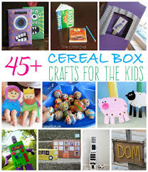 Upcycling Crafts For Adults - recycled cereal box craft ideas for your kids